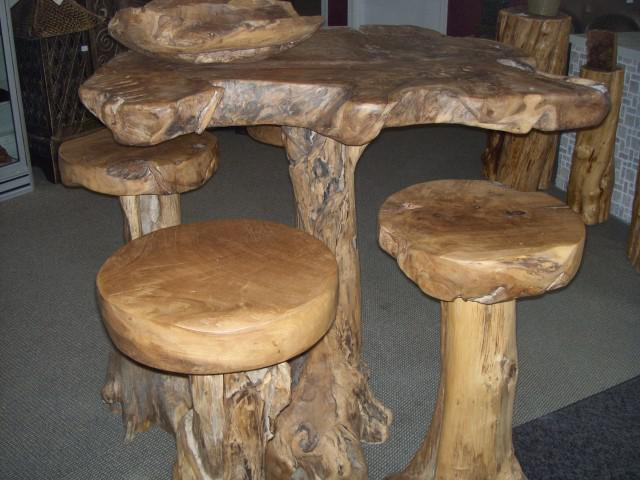 Man Cave Fort Nelson : Man cave bar sets and tables inches thick hard wood