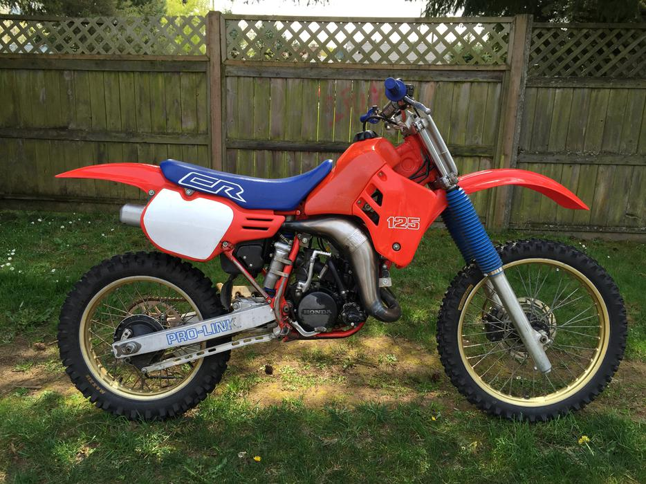 1986 Honda Cr 125 2 Stroke For Sale South Nanaimo Nanaimo