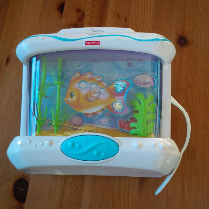 Fisher price fish bowl esquimalt view royal victoria for Fisher price fish bowl