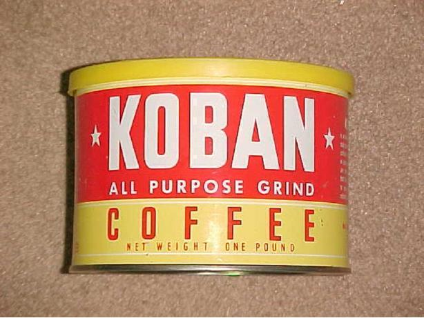 KOBAN COFFEE CAN