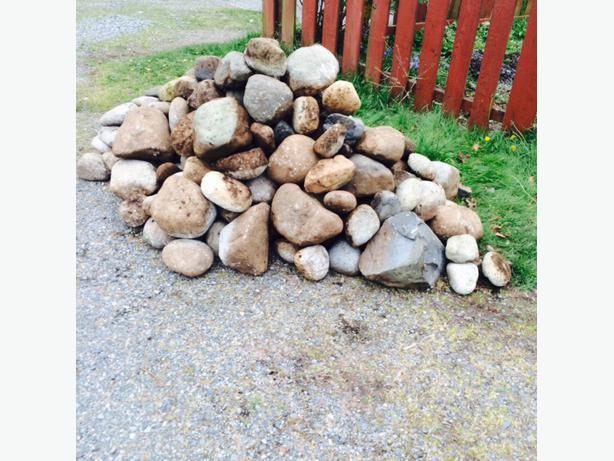 free landscaping rocks central nanaimo nanaimo