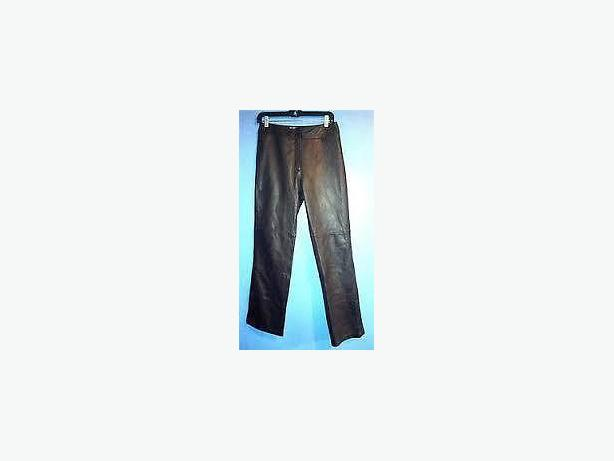Danier Lambskin Leather pants