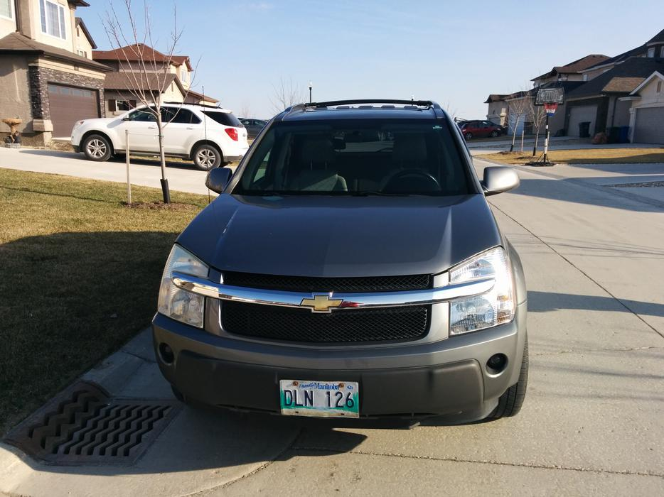 sold 2006 chevrolet equinox lt awd silver metallic. Black Bedroom Furniture Sets. Home Design Ideas