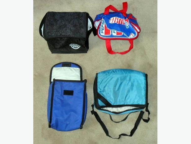 4 Small Cooler bags