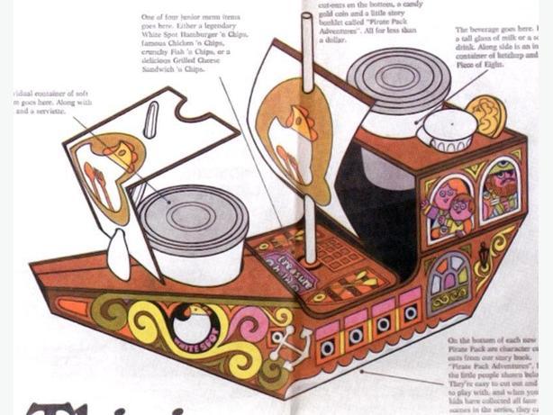 WANTED: 1970s White Spot Pirate Pack ephemera
