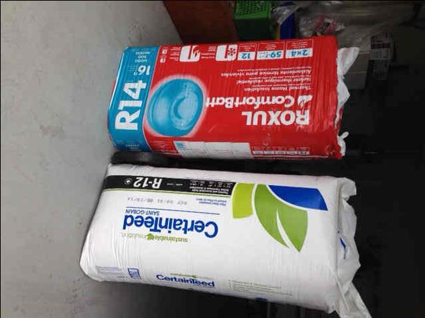 how to cut roxul insulation batt