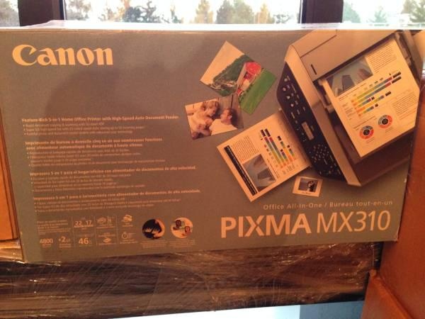 canon pixma mx310 all in one printer vancouver city vancouver. Black Bedroom Furniture Sets. Home Design Ideas
