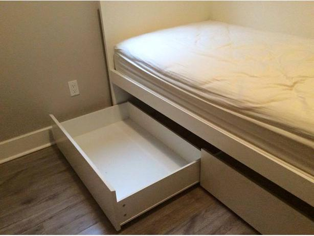 Ikea flaxa single bed review nazarmcom for Single küchen ikea