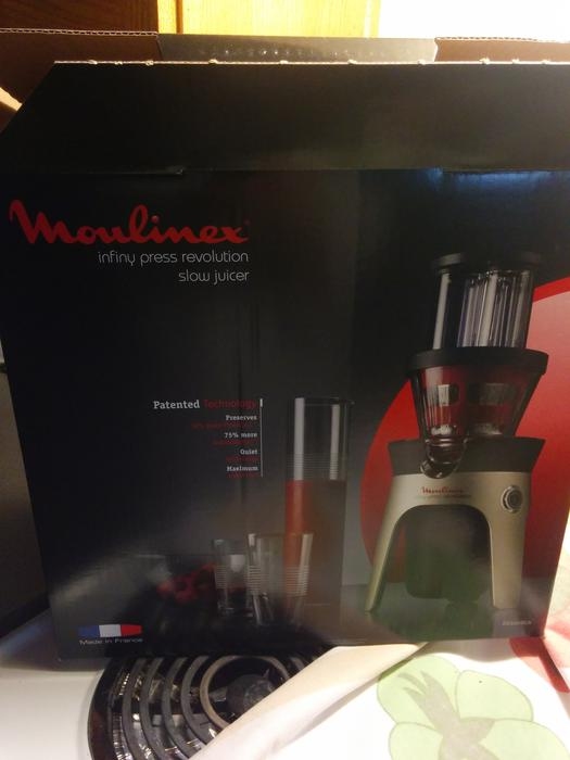 Moulinex Slow Juicer Zu255b10 : Moulinex Infinity Press Slow Juicer East Regina, Regina