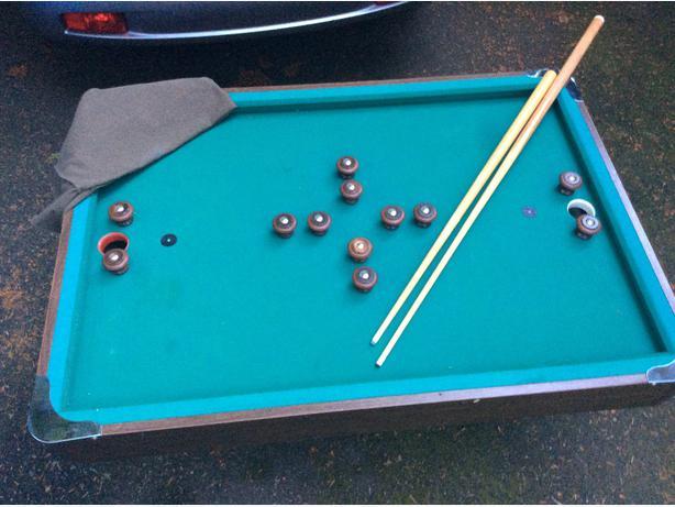 Obo bumper pool table saanich victoria - Bumper pool bumpers ...