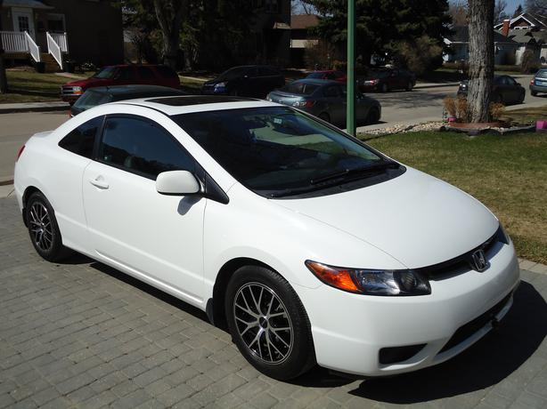 2008 white honda civic ex l fully loaded low kms south