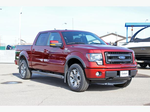 2014 Ford F150 Fx4 Supercrew 4x4 W Tow Package Running Boards Amp Low Km S Outside South