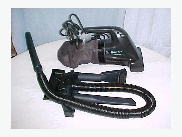 Black Amp Decker Dustbuster Corded Power Brush Vacuum Vac