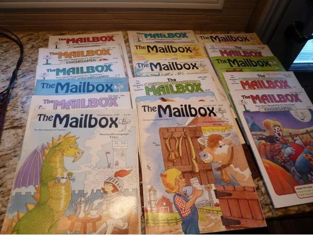 Collection of The Mailbox Magazines