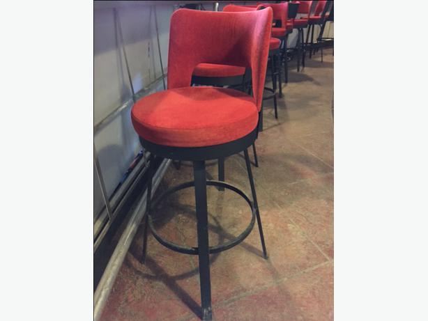 Fancy Red Bar Stools South Regina Regina