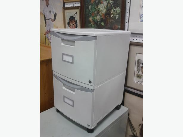 plastic file cabinets plastic 2 drawer filing cabinet on casters ladysmith cowichan 24782