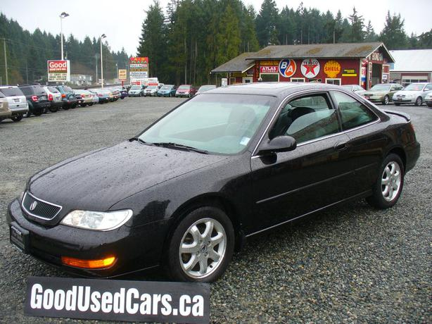 1998 acura 3 0 cl coupe loaded outside cowichan valley. Black Bedroom Furniture Sets. Home Design Ideas