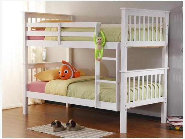 New Solid Wood Bunk Beds 3 sizes, 3 stains 15% OFF
