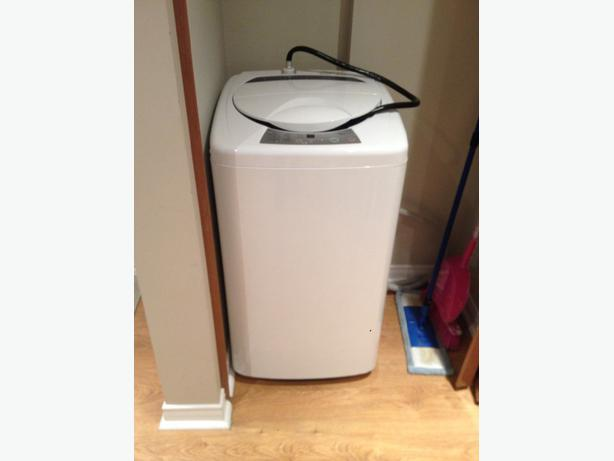 whirlpool washing machine size
