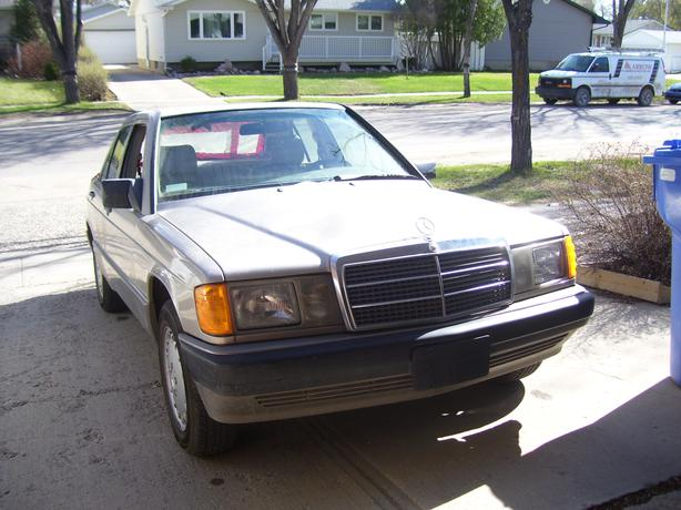 For sale for parts classic 1989 mercedes benz east for Old mercedes benz parts