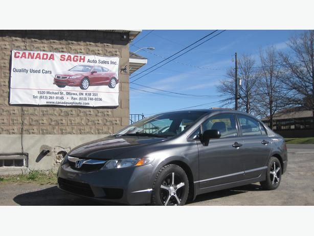 2009 honda civic 5sp awesome deal safety wrty lease to for Honda civic safety