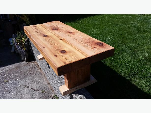 In Needed 140 New Reclaimed Oldgrowth Red Cedar Slab Coffee Table