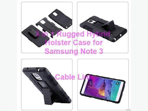 New Rugged Hybrid Armor Holster 3 in 1 Case for Samsung Note 3