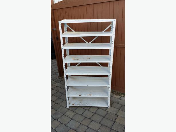 metal shelving unit central ottawa inside greenbelt. Black Bedroom Furniture Sets. Home Design Ideas