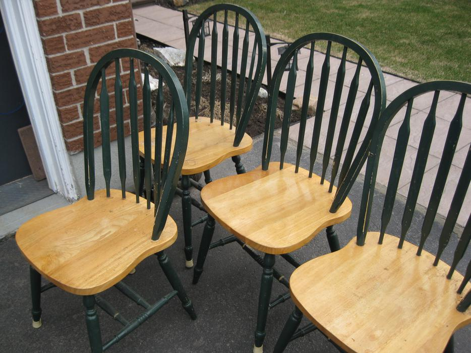 country maple kitchen table with 4 chairs orleans gatineau
