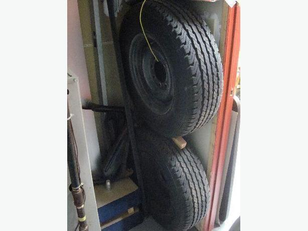 2 Like New Goodyear All Season Wrangler Tires/Rims $200 each LT 225/7