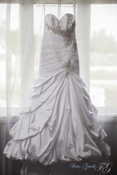 Mermaid Wedding Dresses Ottawa : Wedding bridal gown mermaid lustrous satin with