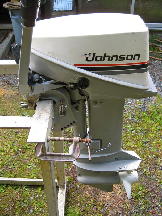 Johnson 15 hp outboard motor parts used honda accord For Sale