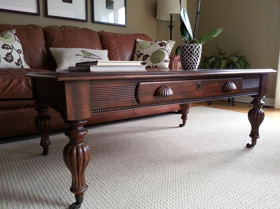 British classic rectangular coffee table nepean ottawa for Coffee tables ottawa