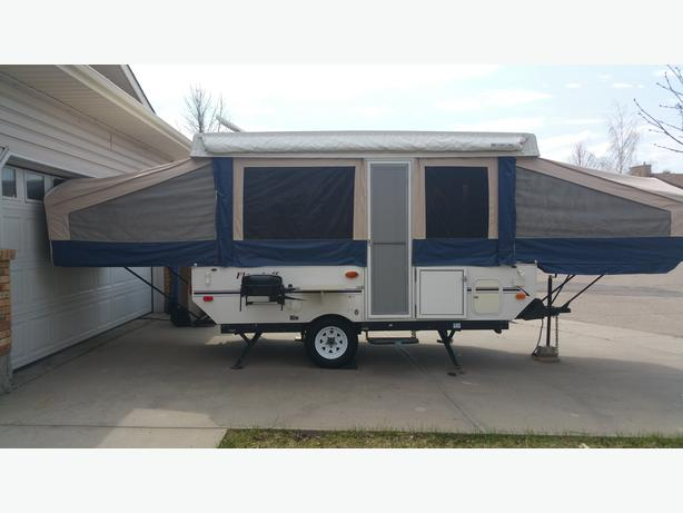 2006 Flagstaff 228 Tent Trailer In Great Condition East