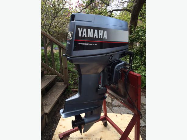 1988 yamaha 30 hp 2 stroke outboard oak bay victoria for 30 hp yamaha outboard