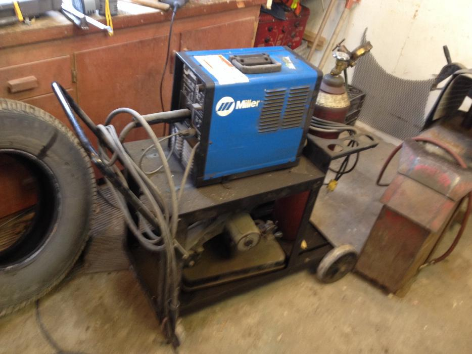 Miller 130 welder cart gas ready to go west regina regina - Webaccess leroymerlin fr ...