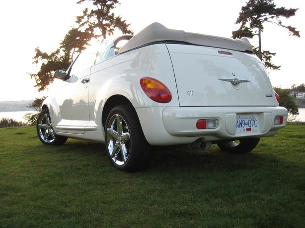2005 chrysler pt cruiser gt turbo convertible sooke victoria. Black Bedroom Furniture Sets. Home Design Ideas