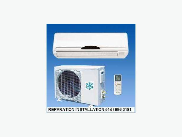 AIR CONDITIONING SERVICE REPAIR 514 9963181 montreal laval longueuil