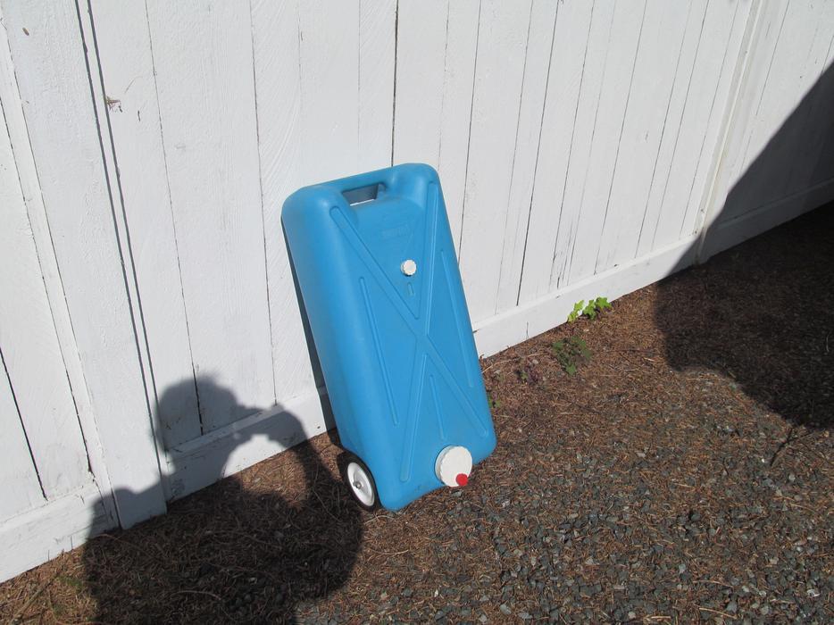 Portable Rv Tanks : Portable rv waste holding tank parksville nanaimo