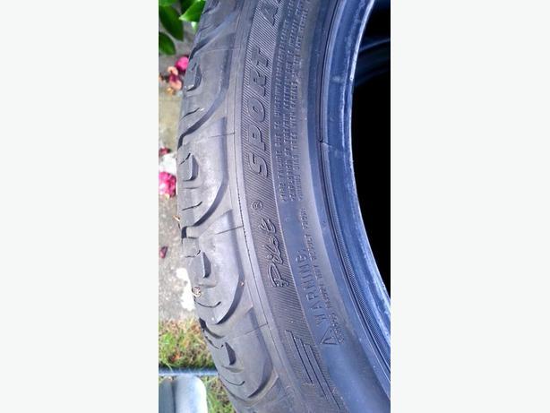 Set Of 205 50 R17 Michelin Pilot Sport Low Profile Tires