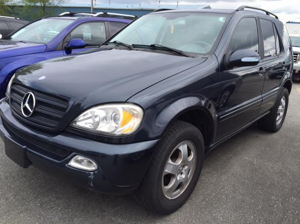 2002 mercedes benz ml320 7 passenger outside victoria. Black Bedroom Furniture Sets. Home Design Ideas