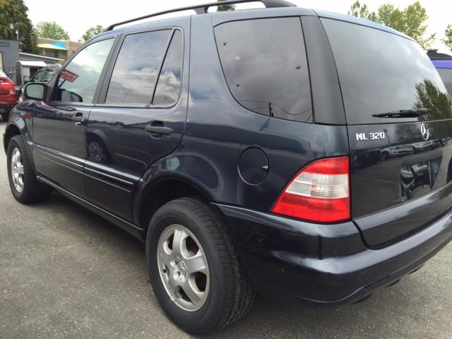 2002 mercedes benz ml320 7 passenger outside victoria for 2002 mercedes benz suv