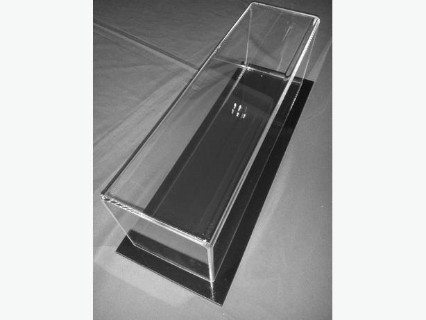 Collector Display Covers Made to Size in Acrylic