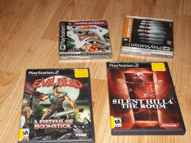 Playstation 2 games and accesories
