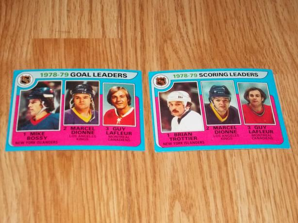 79/80 Topp's Sticker and Team Leader cards