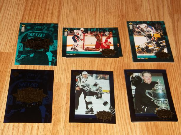 95/96 U.D. Gretzky Record Collection