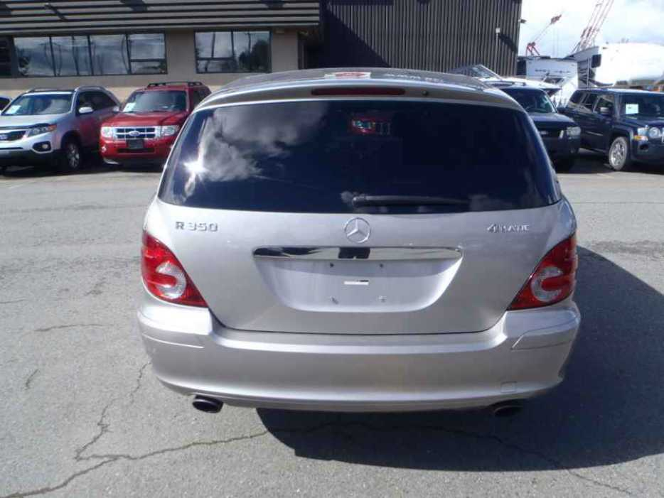 2006 mercedes benz r class outside nanaimo parksville. Black Bedroom Furniture Sets. Home Design Ideas
