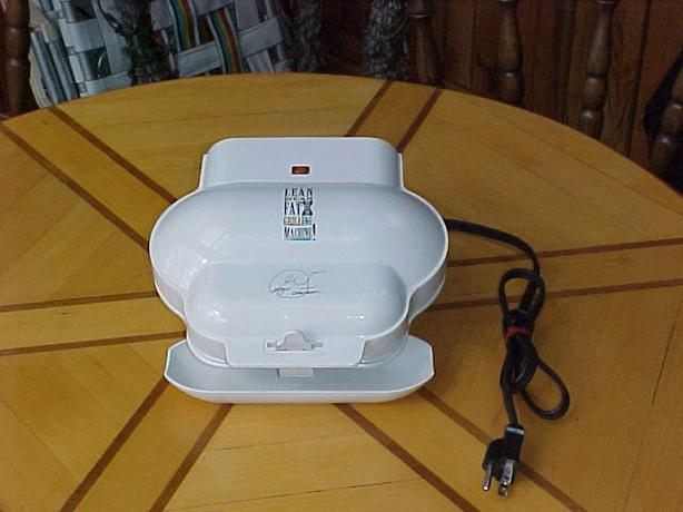 Small george foreman lean mean fat grilling machine drip tray manual outside nanaimo nanaimo - Drip tray george foreman grill ...