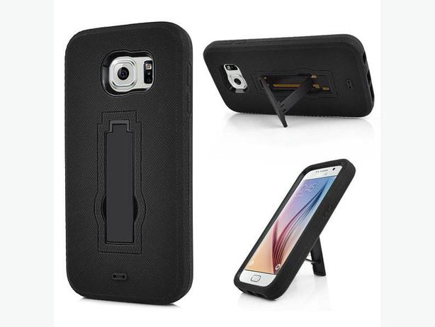 Samsung Galaxy S6 Defender Style Case with Stand