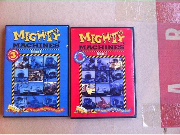 Mighty Machines DVD's